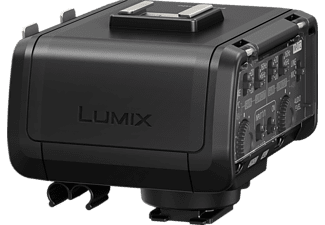 PANASONIC DMW-XLR 1, XLR-Mikrofonadapter, Schwarz
