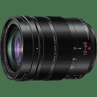 PANASONIC H-ES12060 Lumix G LEICA 12 mm - 60 mm f/2.8-4 DG, ASPH (Objektiv für Micro-Four-Thirds, Schwarz)