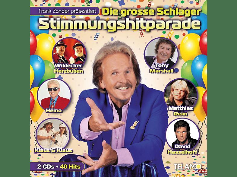 VARIOUS - Frank Zander Präs.Die Große Schlager Stimmungshitp [CD]