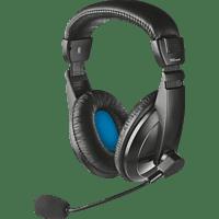 TRUST 21661 Quasar Headset für PC und Laptop Headset Schwarz