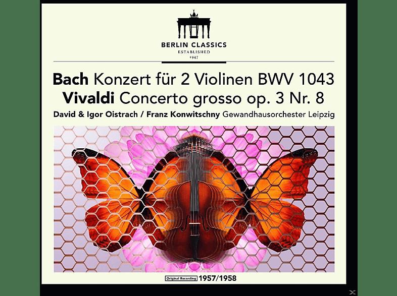 David Oistrach, Anton Ginsburg, Gewandhausorchester Leipzig - Violinkonzerte [CD]