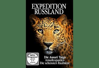 Expedition Russland - Die Assuri Taiga, Amurleoparden, Die seltensten Raubtiere DVD