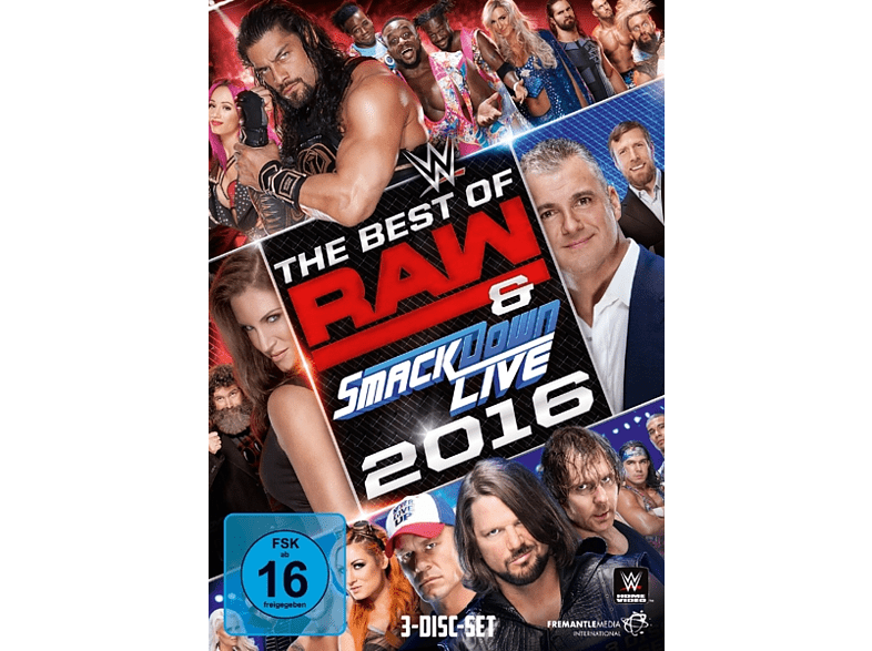 The Best Of Raw & Smackdown Live 2016 [DVD]
