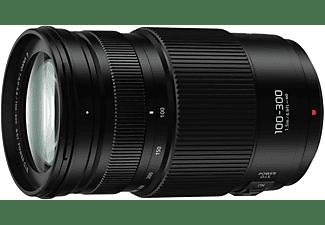 PANASONIC H-FSA100300 Lumix G 100 mm - 300 mm f/4-5.6 OIS (Objektiv für Micro-Four-Thirds, Schwarz)