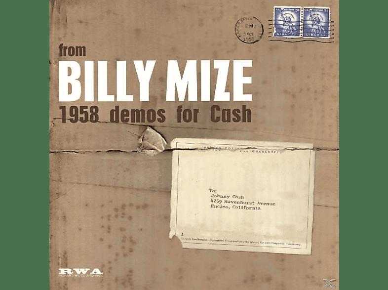 Billy Mize - 1958 Demos For Cash [Vinyl]