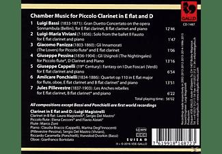 Luigi Magistrelli - Kammermusik für Piccoloklarinetten  - (CD)