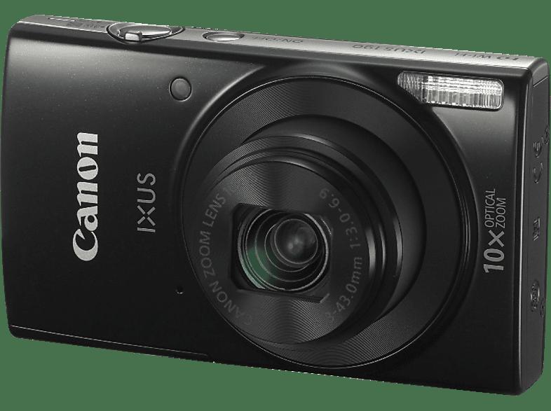 CANON Ixus 190 Digitalkamera Schwarz, 20 Megapixel, 10x opt. Zoom, LCD, WLAN