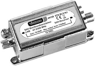 VIVANCO SAT-Breitbandverstärker, 16 –20 dB