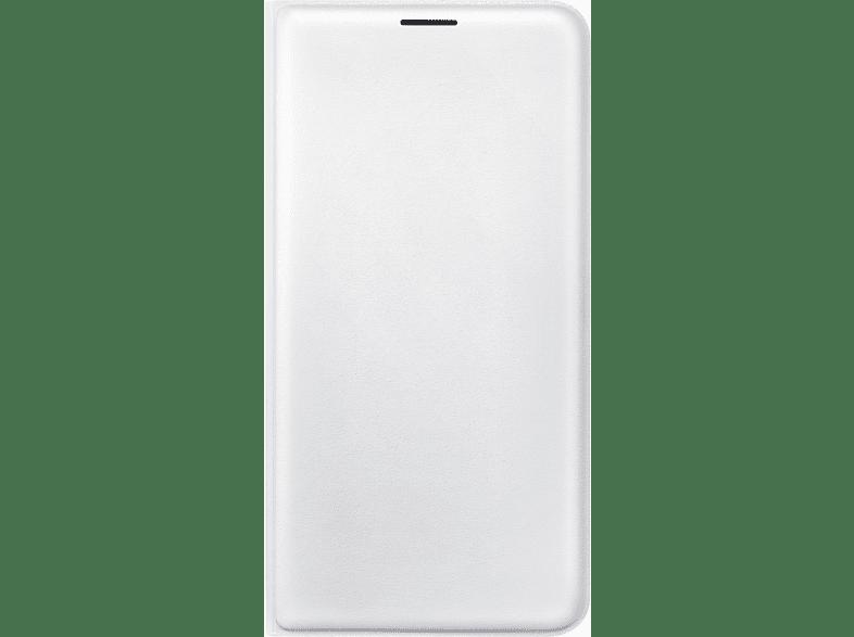 SAMSUNG EF-WJ710 , Bookcover, Samsung, Galaxy J7 (2016), Weiß