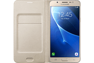 SAMSUNG EF-WJ710 , Bookcover, Samsung, Galaxy J7 (2016), Gold