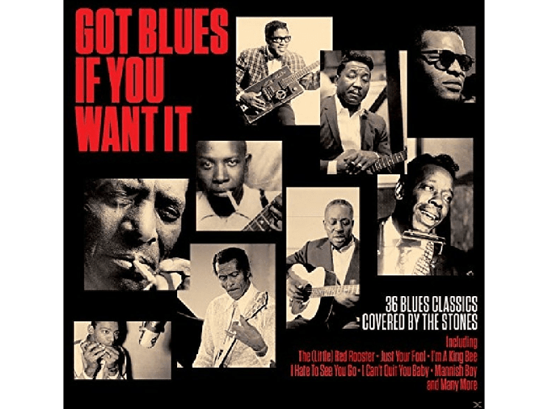 VARIOUS - Got Blues If You Want It [CD]