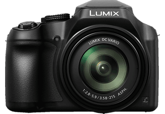 PANASONIC Lumix DC-FZ82 Bridgekamera Schwarz, 60x opt. Zoom, TFT-LCD, WLAN
