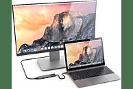 SATECHI PASSTHROUGH , USB Typ-C Hub, Space Grey