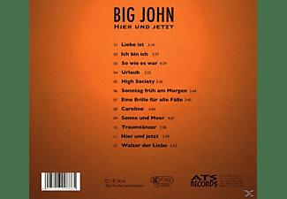 Big John-hans Bieringer - Hier und jetzt  - (CD)