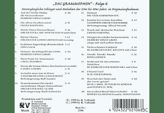 VARIOUS - Das Grammophon-Folge 6  - (CD)