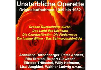 VARIOUS - Unsterbliche Operette  - (CD)
