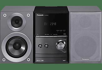 PANASONIC SC-PM602 Kompaktanlage (Grau/Schwarz)