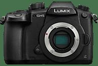 PANASONIC Lumix DC-GH5 Body Systemkamera 20 Megapixel  , 8 cm Display   Touchscreen, WLAN