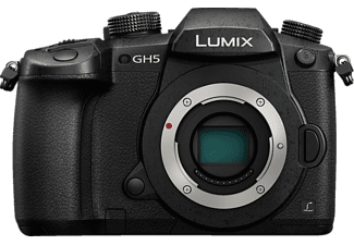 PANASONIC Lumix DC-GH5 Body Systemkamera 20 Megapixel, 8 cm Display Touchscreen, WLAN