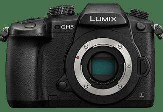 PANASONIC Lumix DC-GH5 Body Systemkamera, 8 cm Display Touchscreen, WLAN