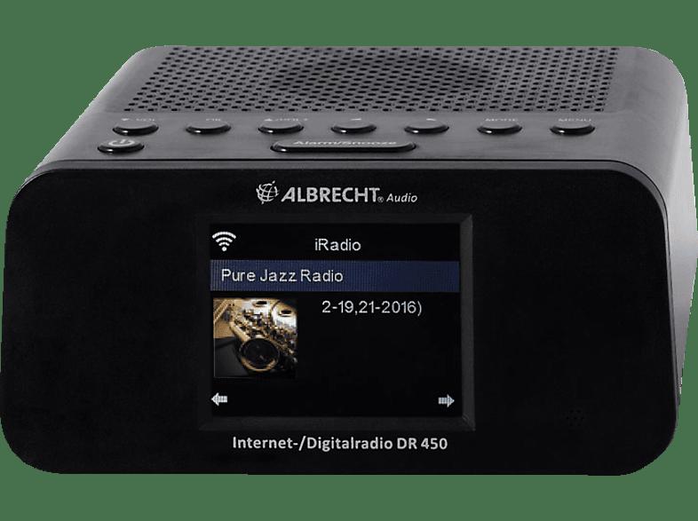 ALBRECHT DR 450 Internetradio (Hybridradio, Schwarz)