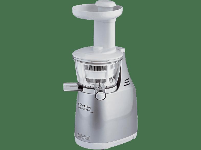 ARIETE 00C016800AR0 Centrika Slow Juicer 400 Watt Silber/Weiß