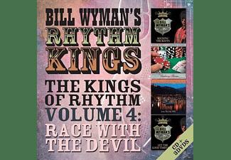 Bill Wyman's Rhythm Kings - The Kings Of Rhythm Vol.4: Race With The Devil  - (CD + DVD Video)