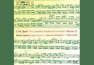 Miklos & Concerto Armonic Spanyi - KLAVIERKONZERTE  VOL. 12  - (CD)