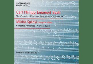 Miklos Spanyi, Concerto Armonico - Klavierkonzerte Vol.11  - (CD)