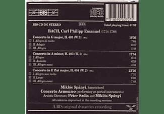Miklos Spanyi, Concerto Armonico - Klavierkonzerte Vol.1  - (CD)