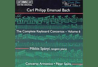 Concerto Armonico, Spanyi, Szuts - Carl Philipp Emanuel Bach: Keyboard Concertos Vol.6  - (CD)