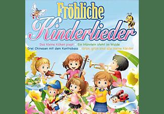 VARIOUS - Fröhliche Kinderlieder  - (CD)