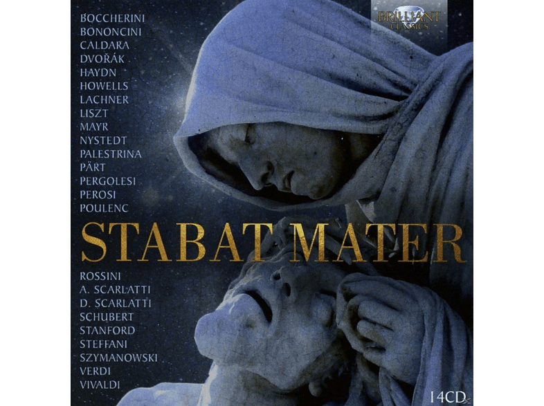 Zazzo,Lawrence/Esswoord,Paul/Bach Choir/+ - Stabat Mater [CD]