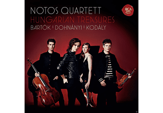 Notos Quartett - Hungarian Treasures-Bartók,Dohnányi,Kodály  - (CD)