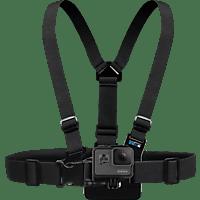 GOPRO Chesty, Brustgurt, Schwarz, passend für für alle GoPro Kameras