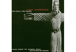 "LEONARDY/SANDHOFF/T RK/K""LNER KANTO - Johannespassion BWV 245  - (CD)"