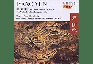 PALM/HOLLIGER/BERLIN RADIO SYMPHONY, Palm/Holliger/Zender/Brso - Konzert Für Cello Und Orch.  - (CD)