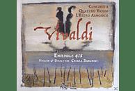 Ensemble 415 - Konzerte Für 3 Und 4 Violinen [CD]