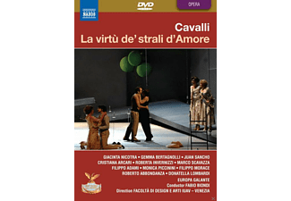 Gemma Bertagnolli, Roberta Invernizzi, Europa Galante, Fabio Biondi - La Virtù de'strali d'Amore  - (DVD)