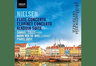 The Philharmonia Orchestra - FLÖTENKONZERT/KLARINETTENKONZERT/ALADDIN-SUITE  - (CD)