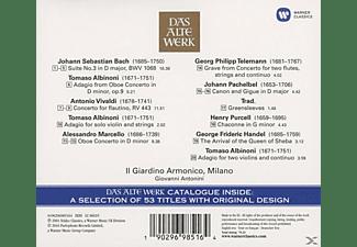 Il Giardino Armonico, Giovanni Antonini - Musica Barocca (Inkl.Das Alte Werk-Katalog)  - (CD)