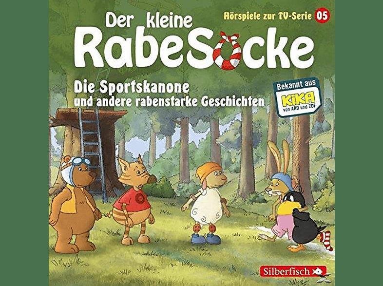 Der kleine Rabe Socke - Die Sportskanone und andere rabenstarke Geschichten - (CD)