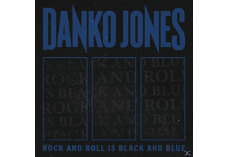 Danko Jones - Rock And Roll Is Black And Blue (Blue Version)  - (Vinyl)