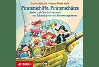 Wolf,Klaus-Peter/Göschl,Bettina - Piratenschiffe, Piratenschätze, Lieder und Geschichten - (CD)