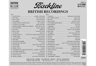 VARIOUS - Backline Vol.412  - (CD)