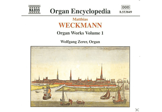 Wolfgang Zerer - Weckmann: Organ Works Vol.1  - (CD)