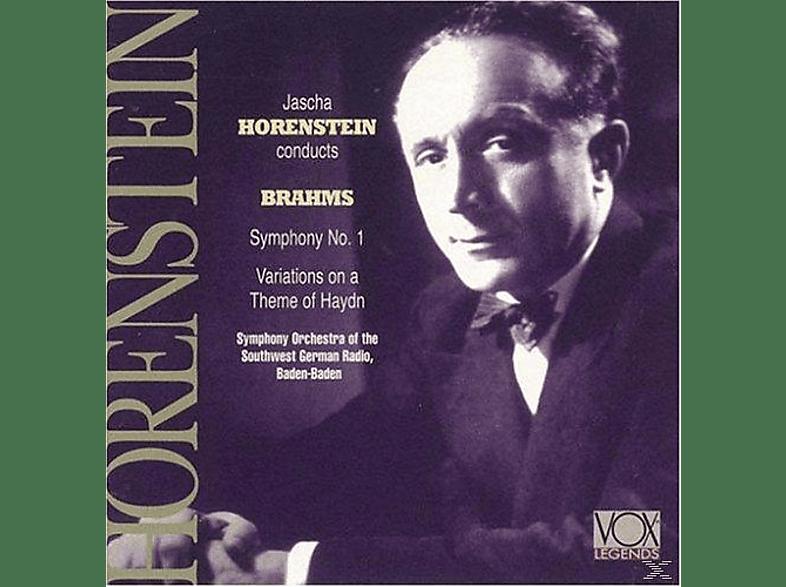 Südwest Sym.Orch.Baden-Baden, Jascha Horenstein - Horenstein Dirigiert Brahms [CD]