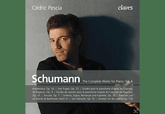 Cedric Pescia - Sämtliche Klavierwerke vol.6  - (CD)