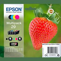 EPSON Original Tintenpatrone Erdbeere, mehrfarbig