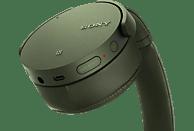 SONY MDR-XB950N1, Over-ear Kopfhörer Bluetooth Grün